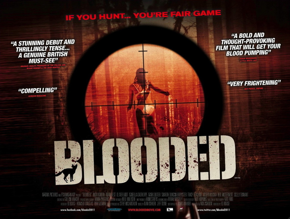 Blooded Film Poster. Released by Revolver.