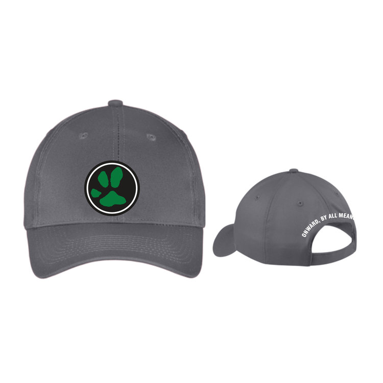 Following Atticus Authentic Paw Print Gray Hat — Stulls Country Store 8758e7e7c20
