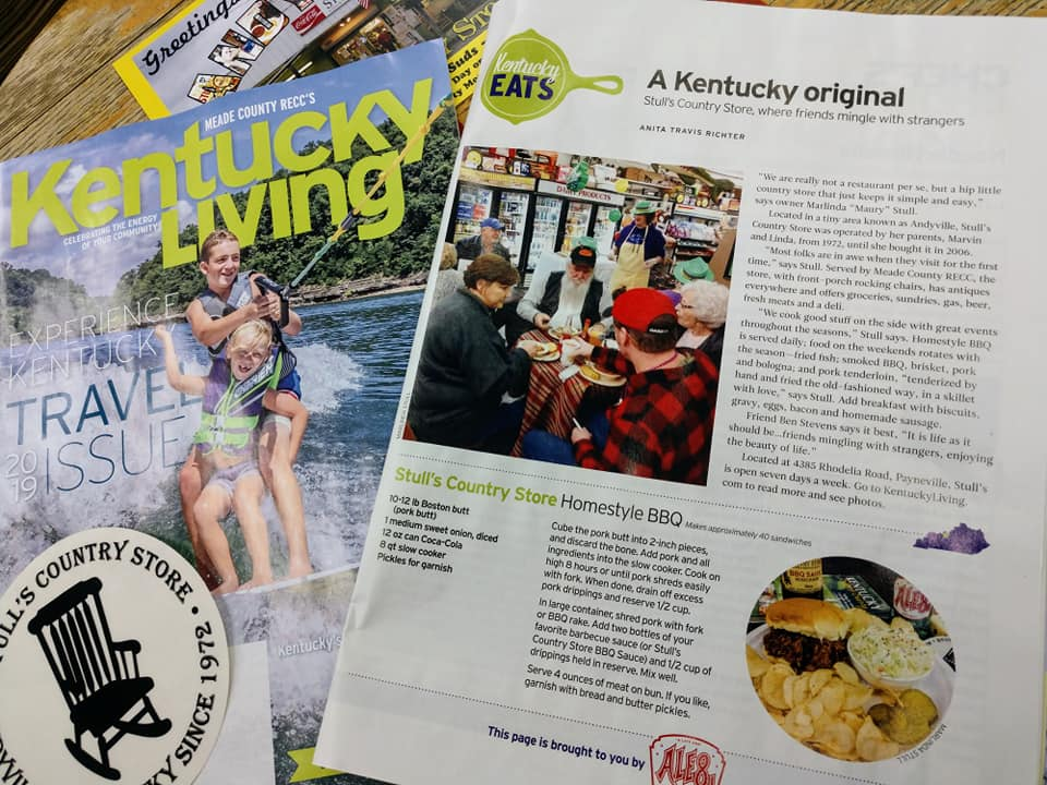 WE ARE HONORED TO BE FEATURED IN APRIL'S EDITION OF KY LIVING MAGAZINE.