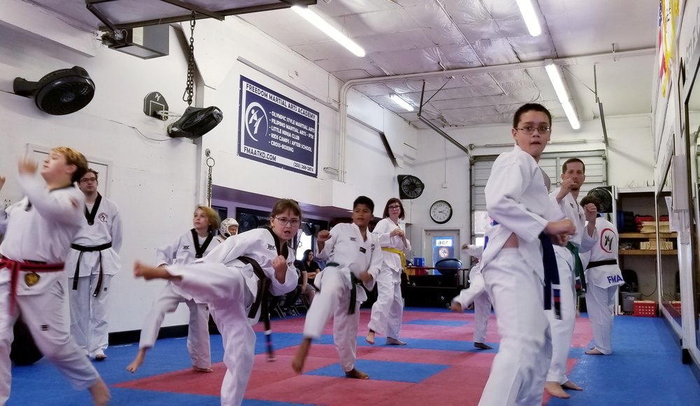 Martial Arts helps with strengthening the mind, body and soul.