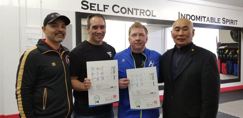 Kukkiwon Certified