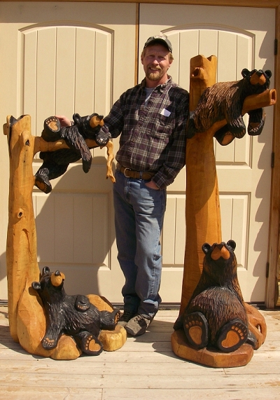Original carvings — bear country gallery