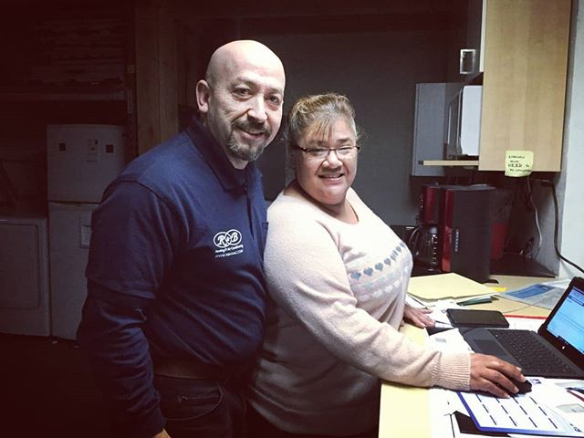R&B Heating and AirConditioning two main brains working side by side! #rnbhvac #businesspartners