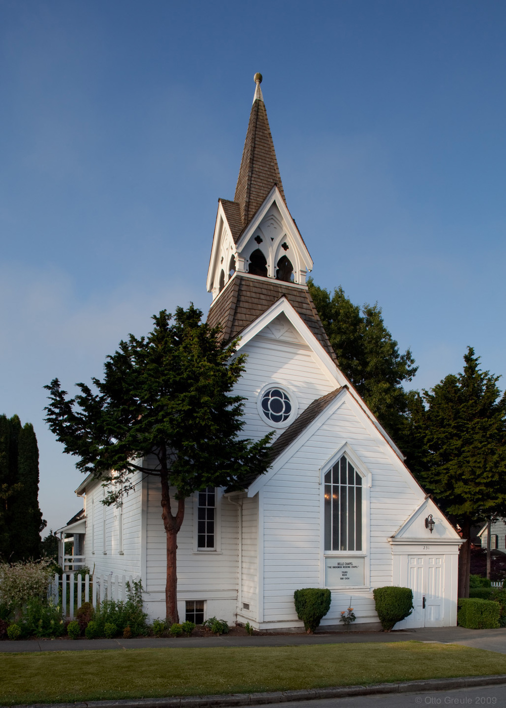 The Original Methodist Church, Snohomish, WA.