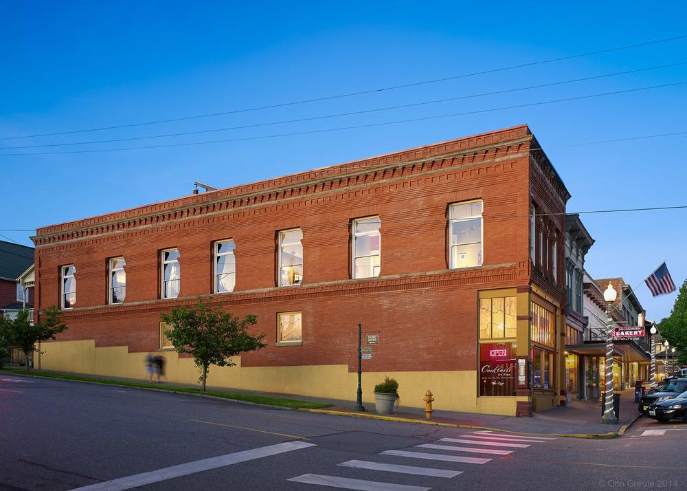 J.S. White Building, Snohomish, WA.