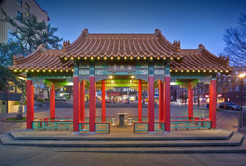 Pagoda, Hing Hay Park, Seattle, WA.