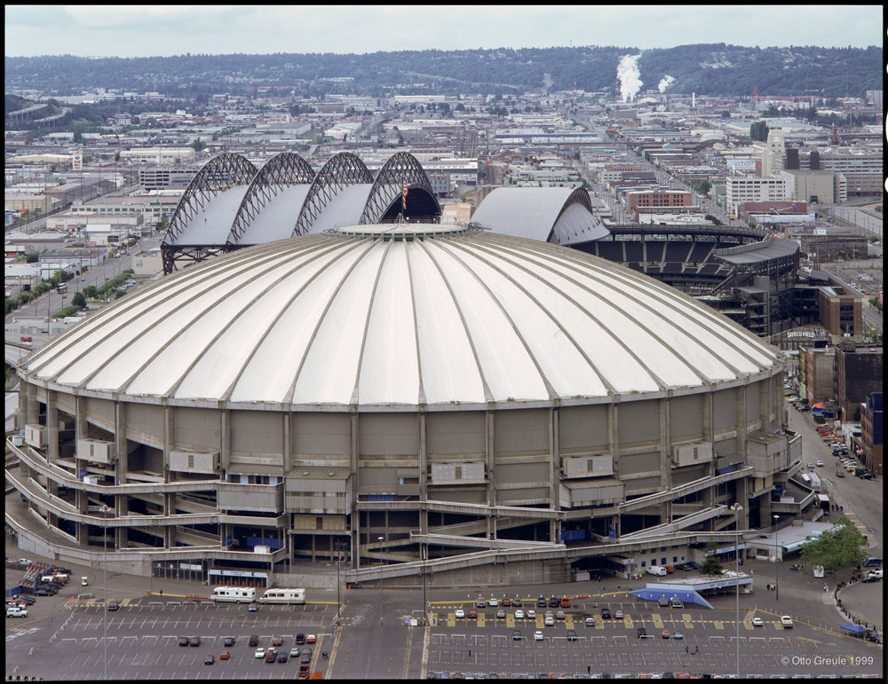 The Kingdome, 1999, Seattle, WA.