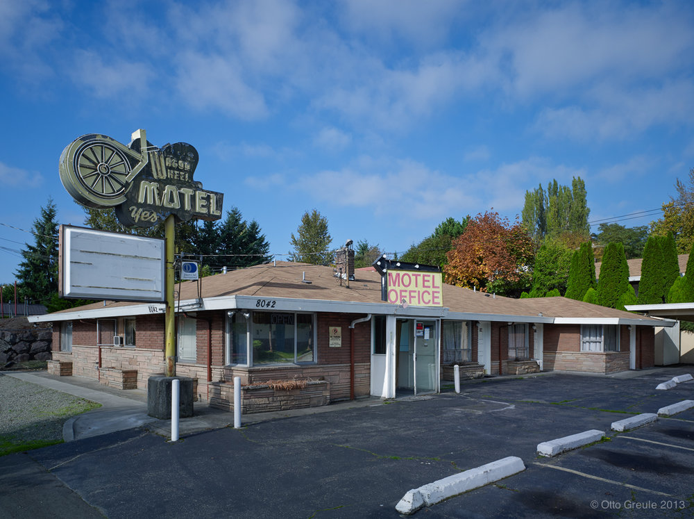 The Wagon Wheel Motel, Kenmore, WA.