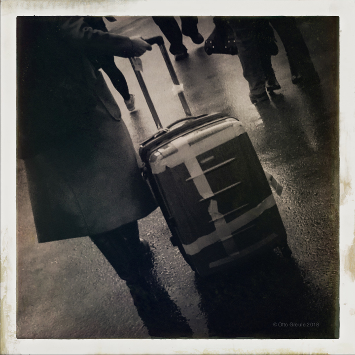 Person with a Suitcase.
