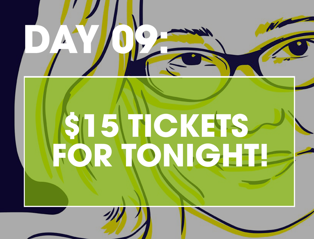 PARDON MY TANGENT - If you are looking for something to do tonight, this treat is for you! A variety of celeb guests will be visiting Jeanane Garofalo and Arden Myrin at this live podcast taping, including Amy Sedaris and Amber Tamblyn! Today only, get tix from $15 (regularly $25+)GET TICKETS >>