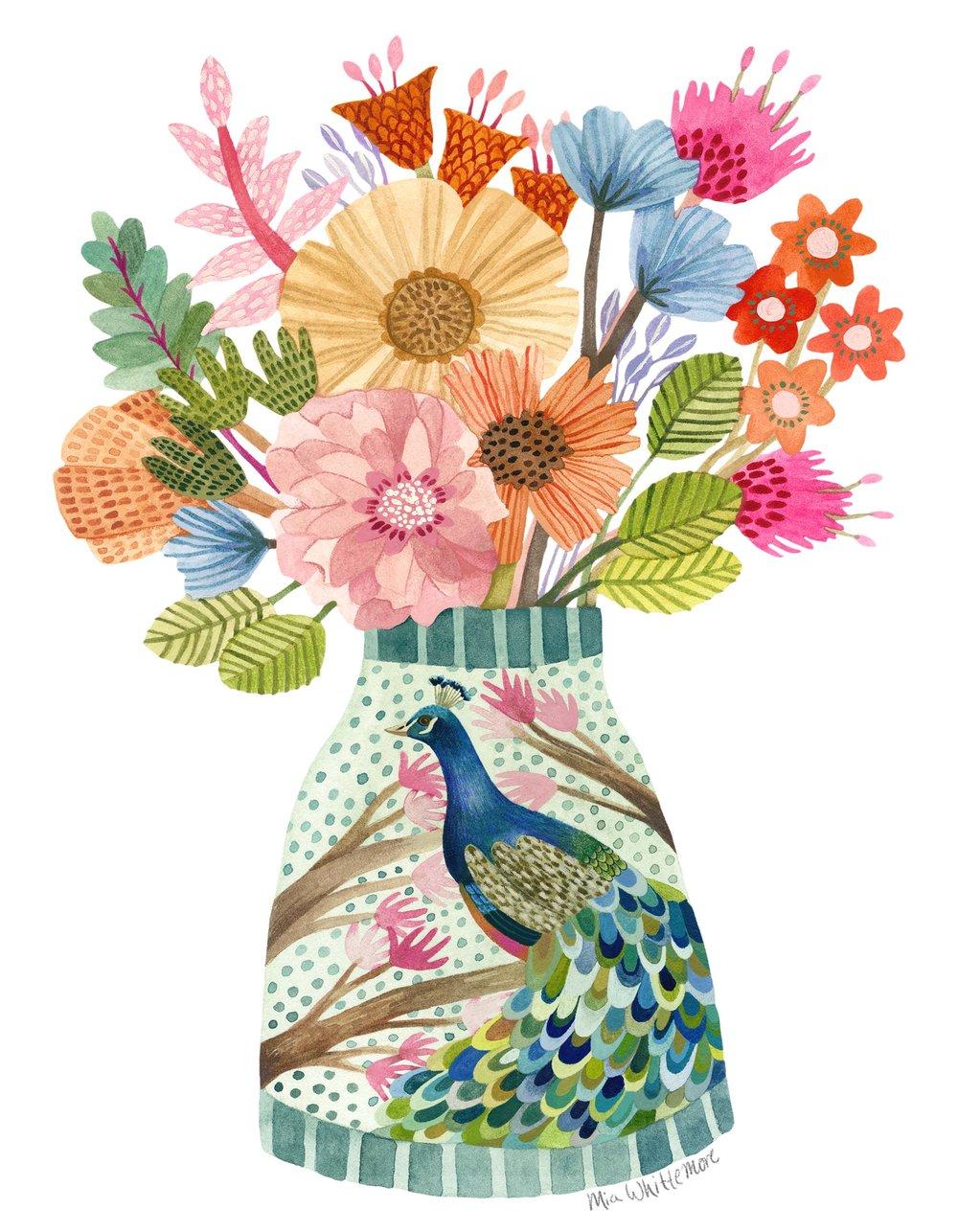 Mia Whittemore_Peacock Vase.jpg