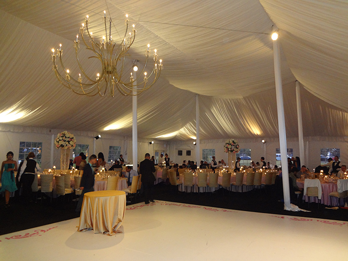 Wedding Reception Tent at Private Residence