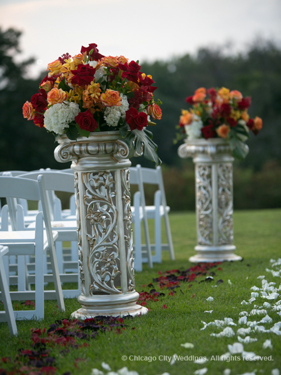 Christian Ceremony Aisle Decorations