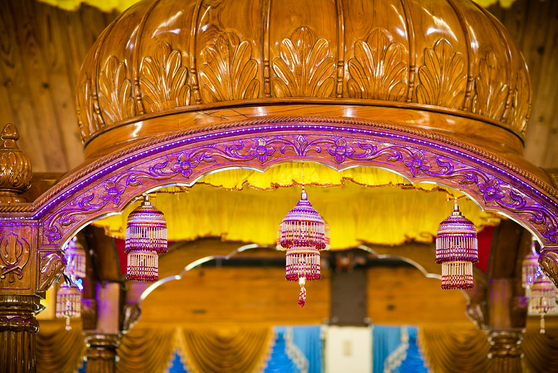 Traditional Sikh Wedding Decor