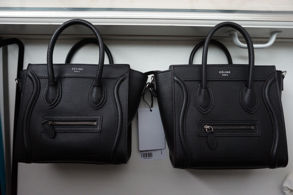 celine trio price - 10 Ways to Tell if Your C��line is Fake (Real vs. Fake Comparison ...
