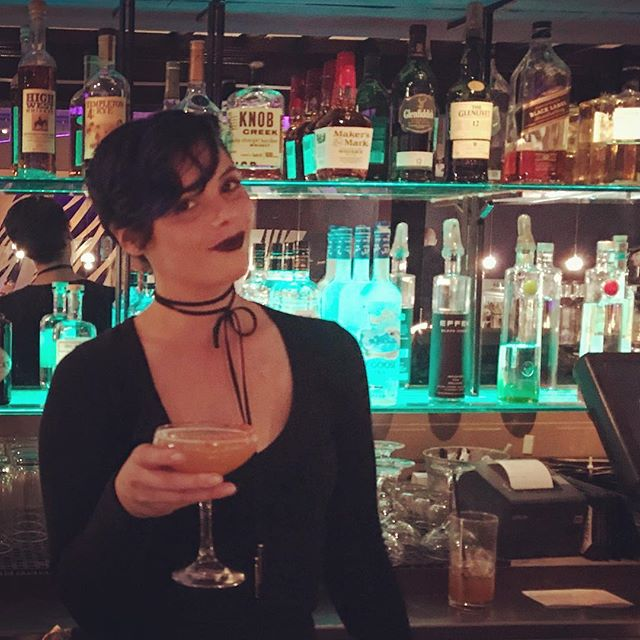 Come hang with Kiki behind the bar this weekend and ask her for an Oaxaca Shame, one of our newest mezcal cocktails!! . . #sushi  #🍣 #sushiporn #sushtagram #sushigram #sushiart #sushitime #blowfishsf #eatsf #eatersf #bayareaeats #bayareafoodie #mission #sf #crunchyporkbelly #foodie #foodporn #sffoodie #mezcal