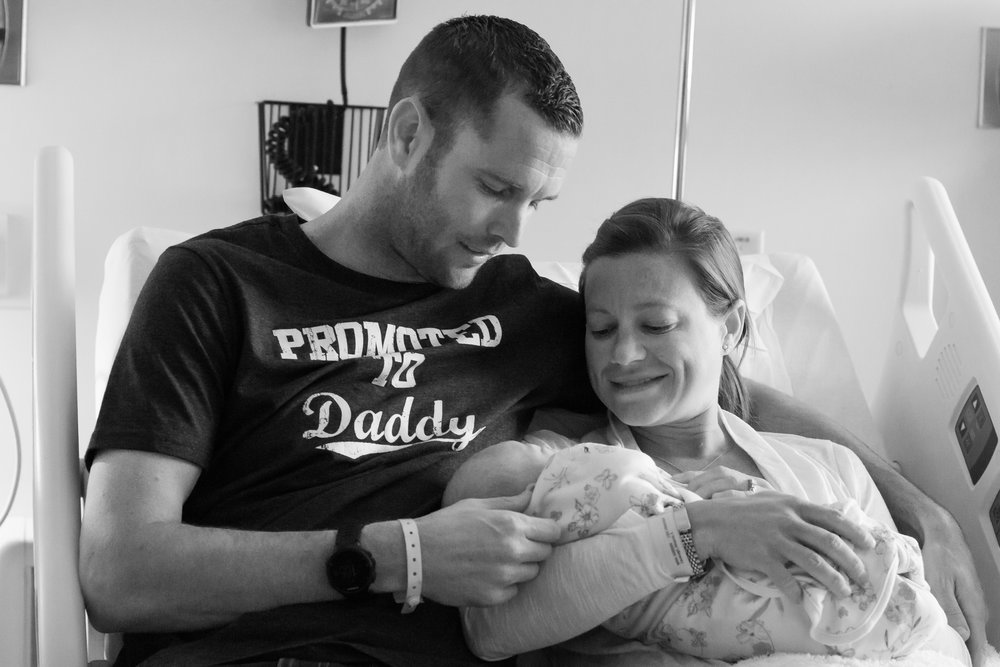 Newborn Hospital Session/Fresh 48-Lena Grey Photography
