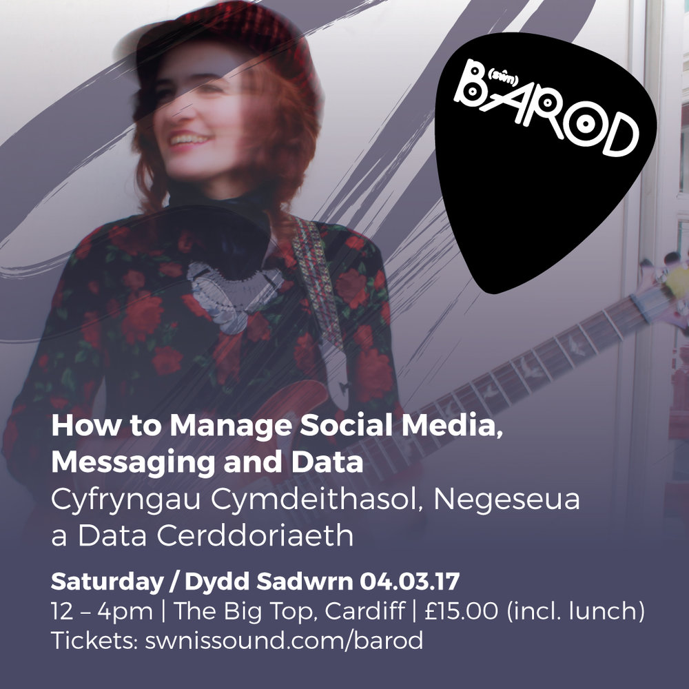 BAROD: How To Manage Social Media, Messaging and Data 4th March 2017 | 12pm - 4pm | £15