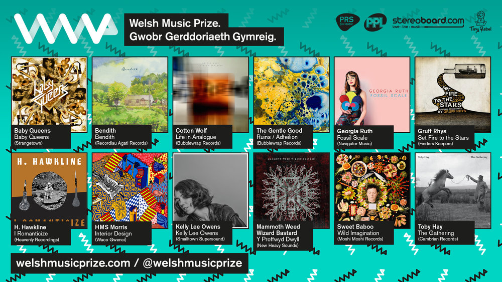 Follow Welsh Music Prize on Twitter or like us on Facebook.
