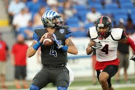 Riley Ferguson leads the Memphis offense