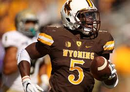 Brian Hill is a spectacular running back for Wyoming