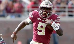 The 1-2 punch of Jacques Patrick (above, photo courtesy of GridIron Now) and super freshman Cam Akers (below, photo courtesy of the Orlando Sentinel) gives FSU a dynamic rushing attack