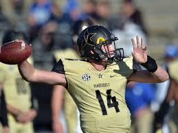 Kyle Shurmur looks to do the same for the Dores (Photo the Tennessean).