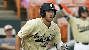 The sensational VU shortstop Connor Kaiser (Photo, Chicago Tribune).
