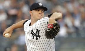 Sonny with a nice outing Thursday versus the KC Royals (Photo, www.nj.com).