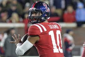 Jordan Ta'amu and the high octane Ole Miss offense await the Auburn Tigers (Photo, Saturday Down South).