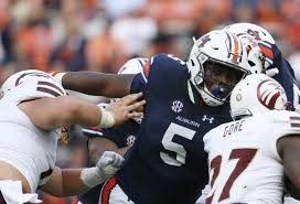 Can Derrick Brown and the Auburn defense corral the Georgia offensive arsenal (Photo, Saturday Down South).