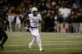 Xavier Ubosi played a once in a lifetime game last night, at least for some wrs, maybe not him (Photo, UAB Blazers).