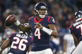 Deshaun Watson and the Texans host Luck and Indy (Photo, The Runner Sports)).