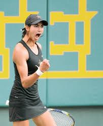 The great Astra Sharma advances at the Australian Open (Photo, Herald Sun).