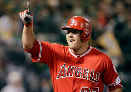 The Los Angeles Angels put their faith in MIke Trout. That's a good idea (Photo, Washington Post).
