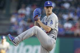 I like 24 year old Walker Buehler to play a big part in getting the Dodgers their first World Championship since 1988 (Photo, Dodger Blue).