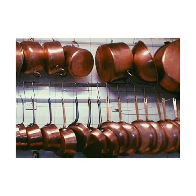 Photo by Kevin Thornton #thorntonsrestaurant @kevinthornton5 #copper #cookware #royaldoulton #photography #kitchenset #kitchenlife #foodphotography #foodforlife #potsandpans #toolsofthetrade #dreamkitchen