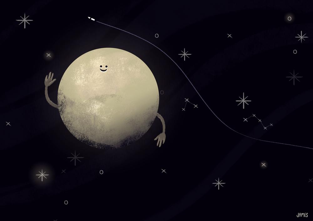 "Pluto Says ""Hi"""