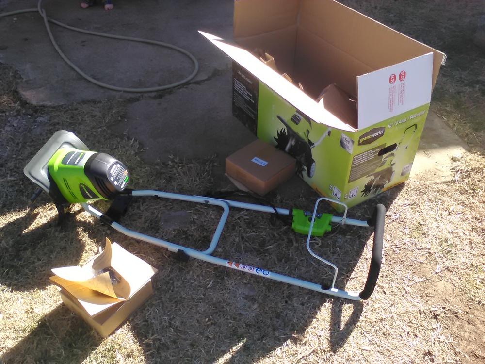 """GreenWorks 10"""" Cultivator"""