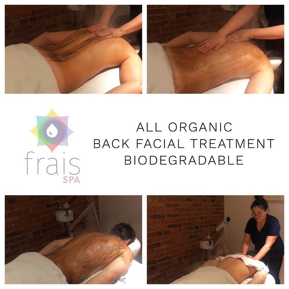 SPA DAY - If you don't want to scrub yourself, treat yourself to a spa day at Frais Spa where you can get scrubbed, rubbed and pampered by trained professionals. book now here
