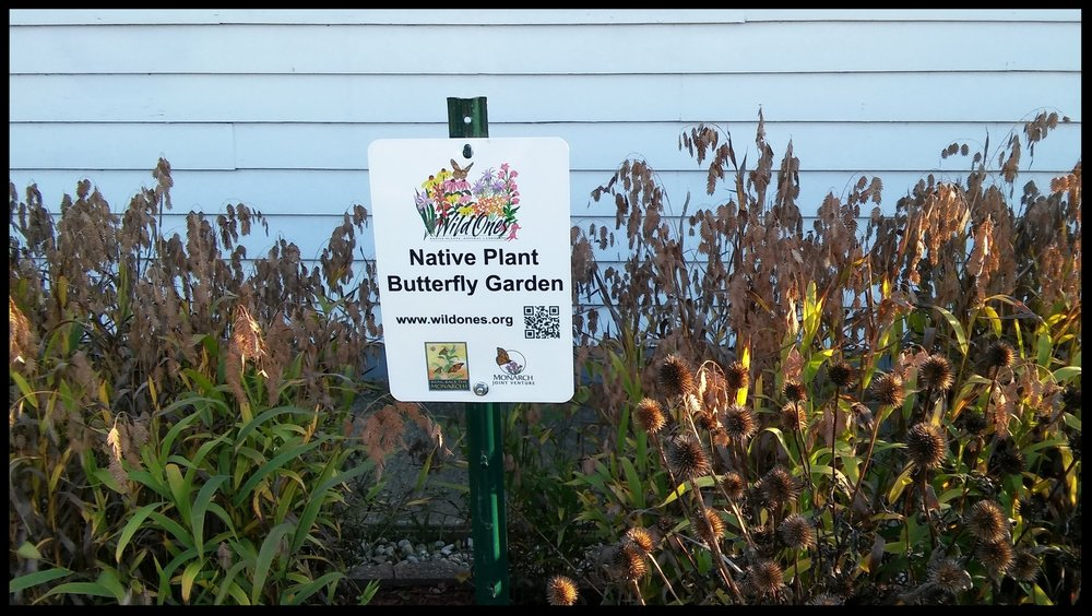 My yard is certified and my sign is installed.