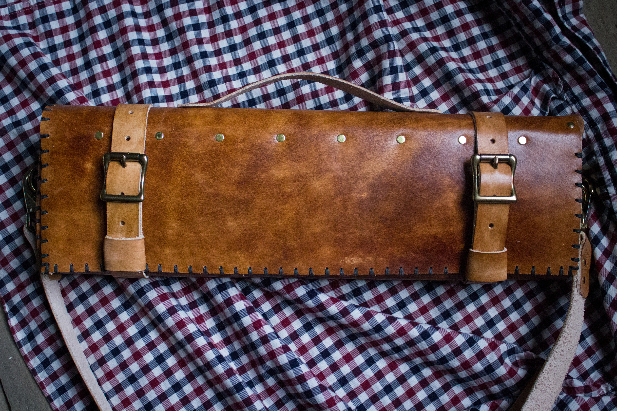 Knife Roll and Messenger Bag Strap-12