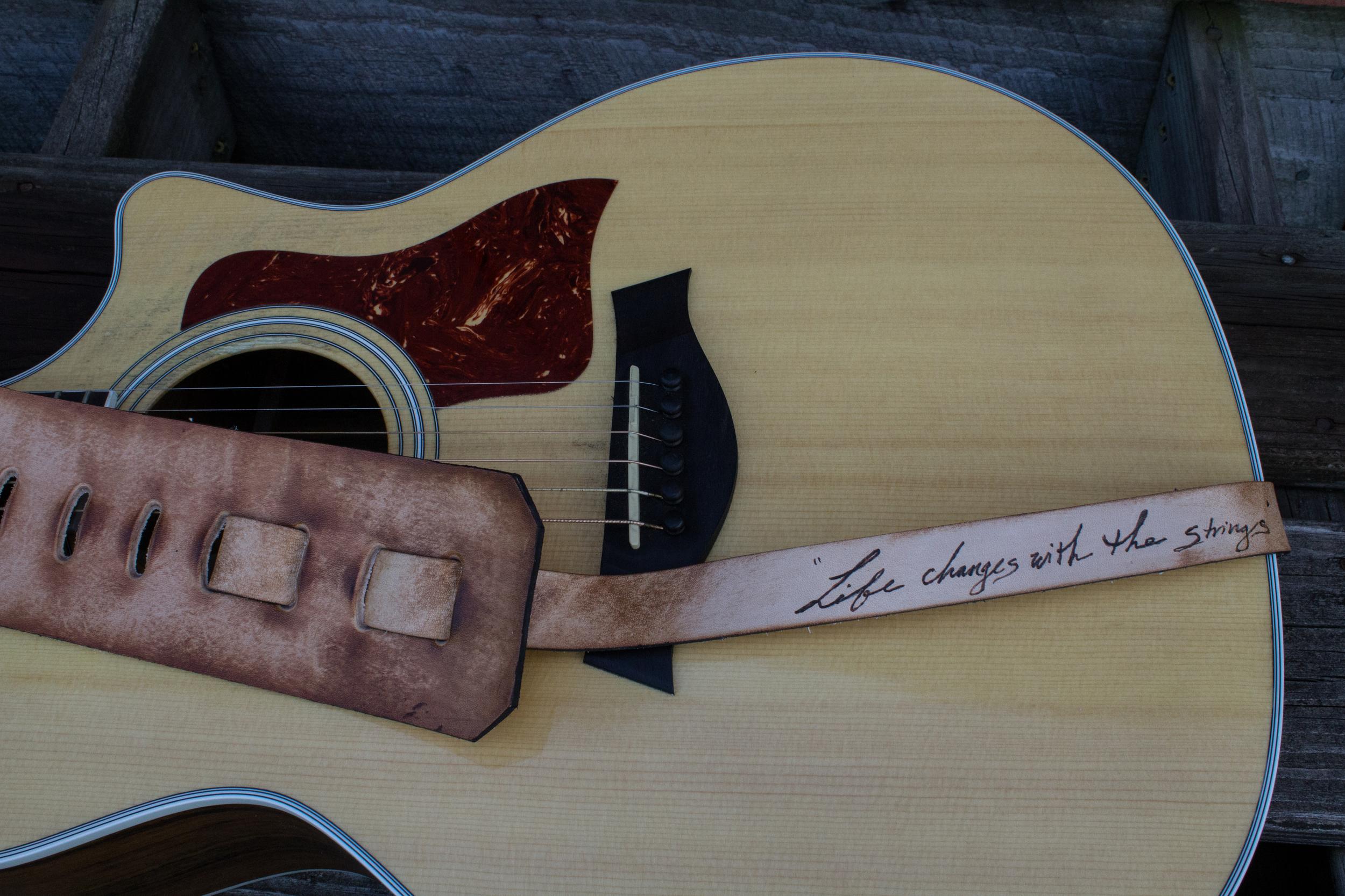 Hawk Guitar Strap-3