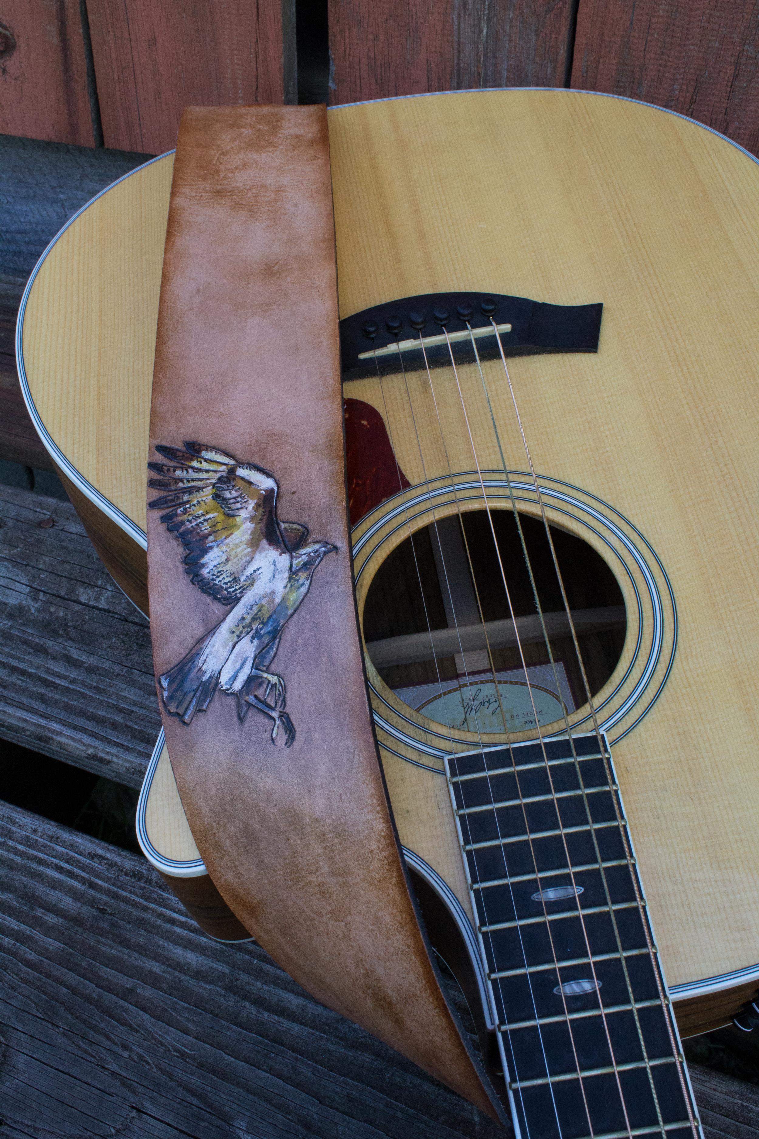 Hawk Guitar Strap-4
