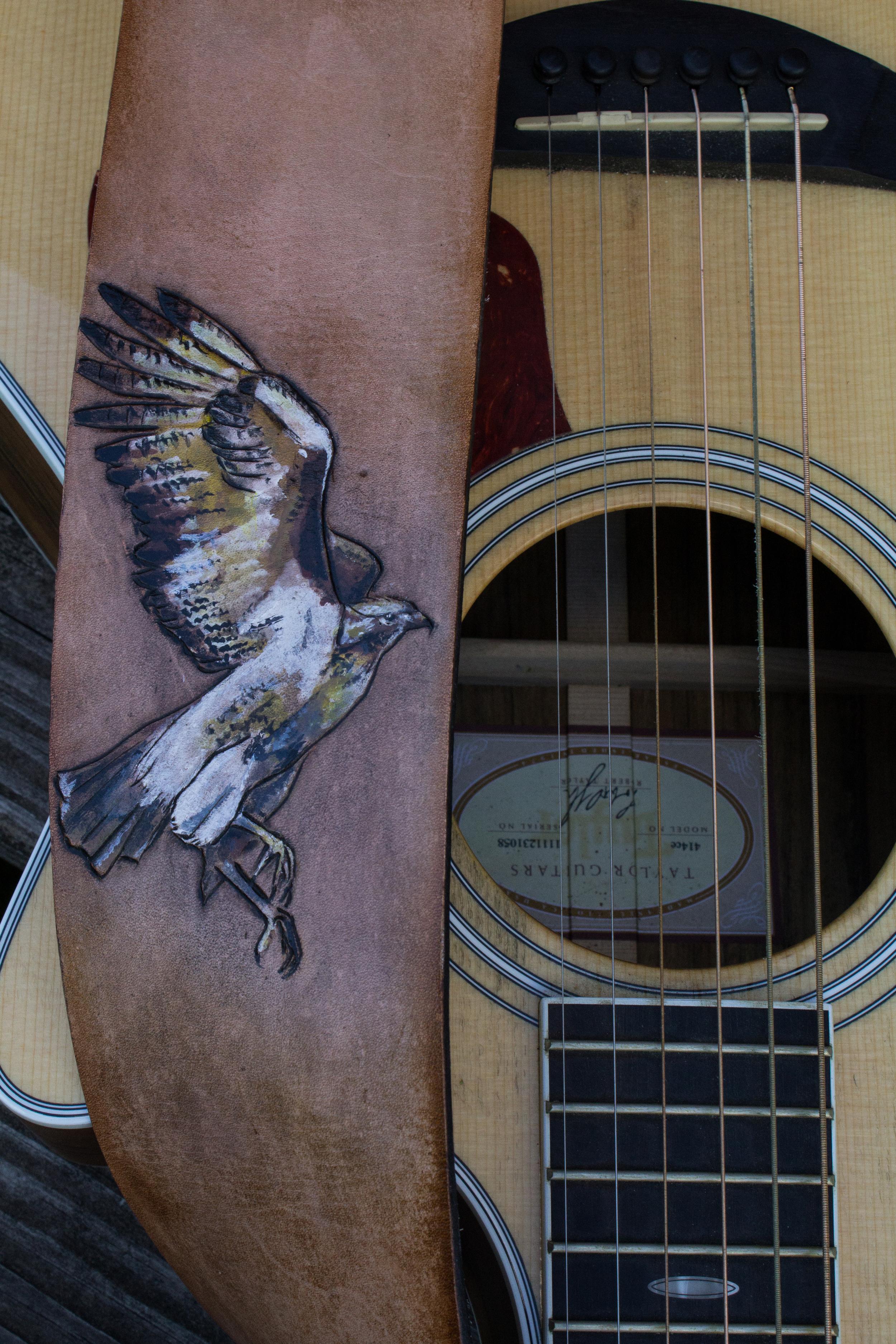 Hawk Guitar Strap-5