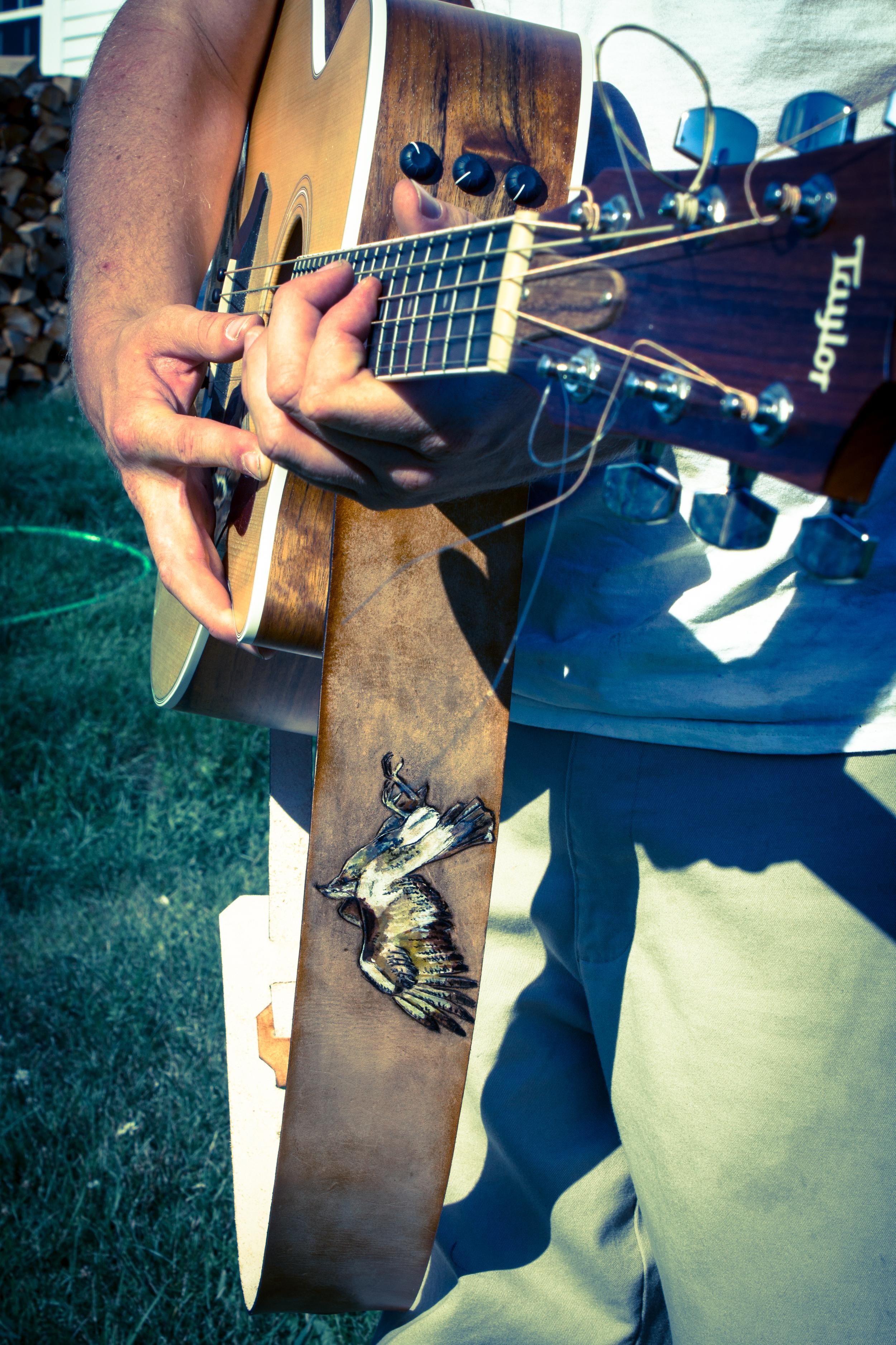 Hawk Guitar Strap-7