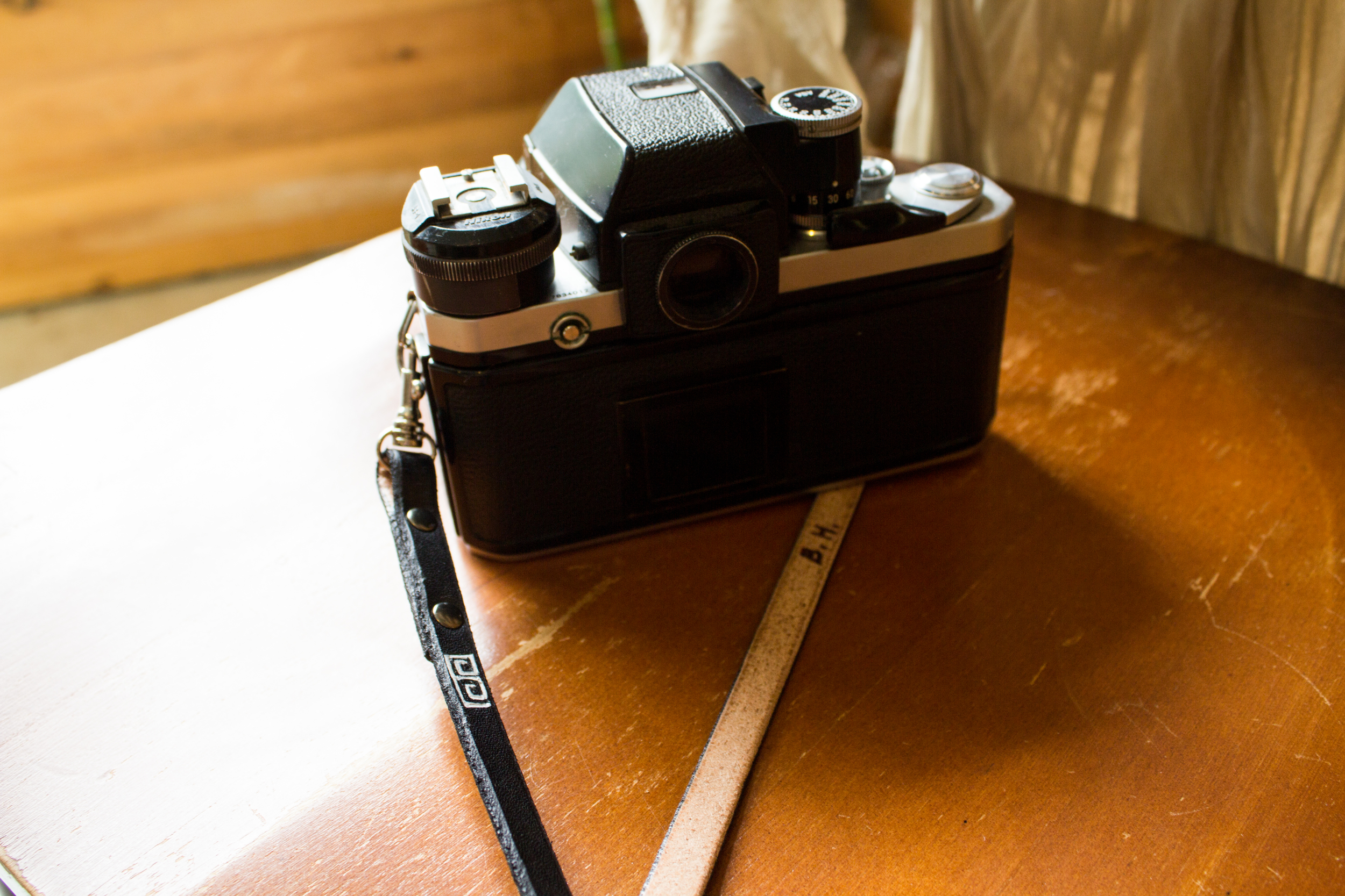leather camera strap for wrist and neck-4