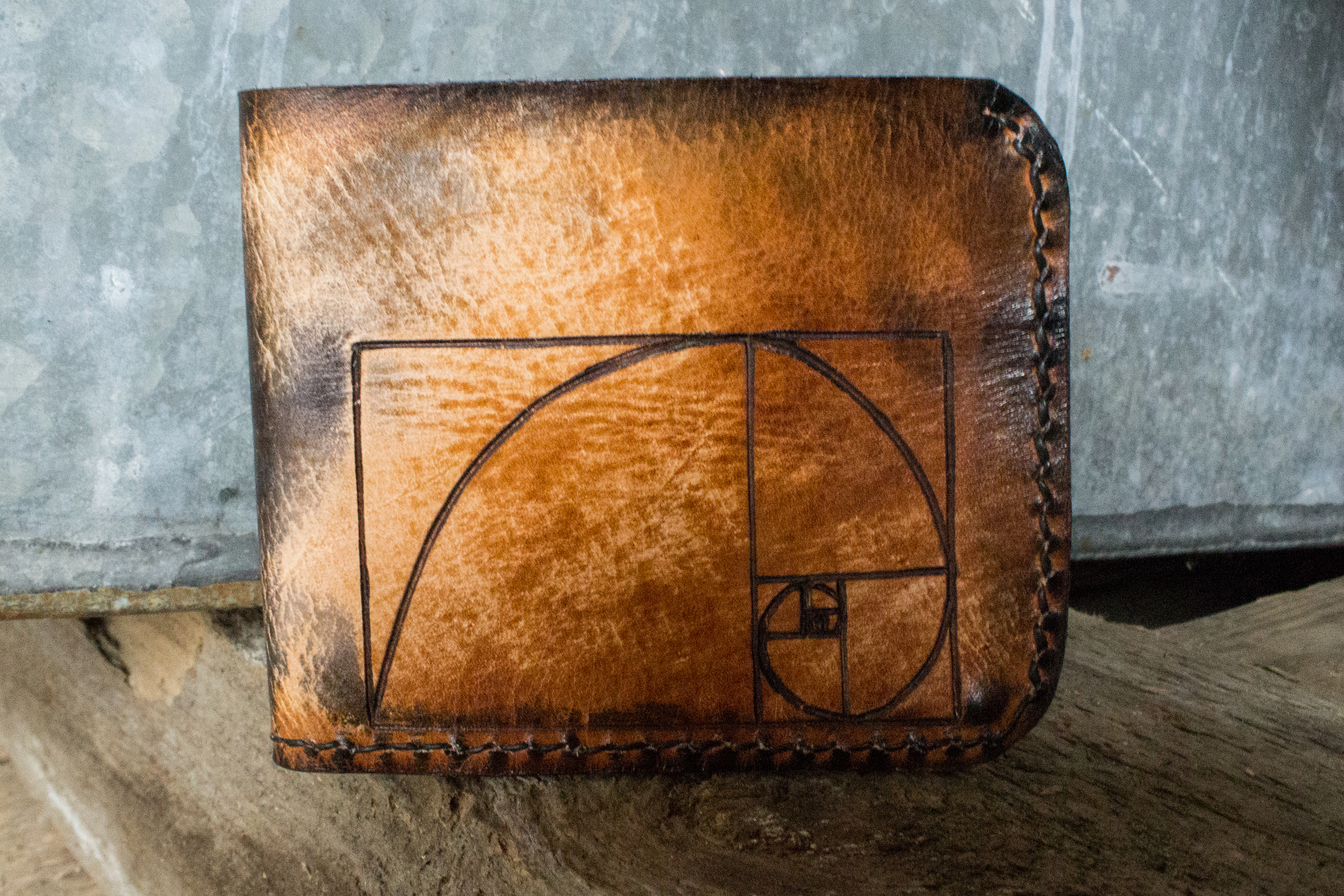 The Golden Mean Leather Wallet