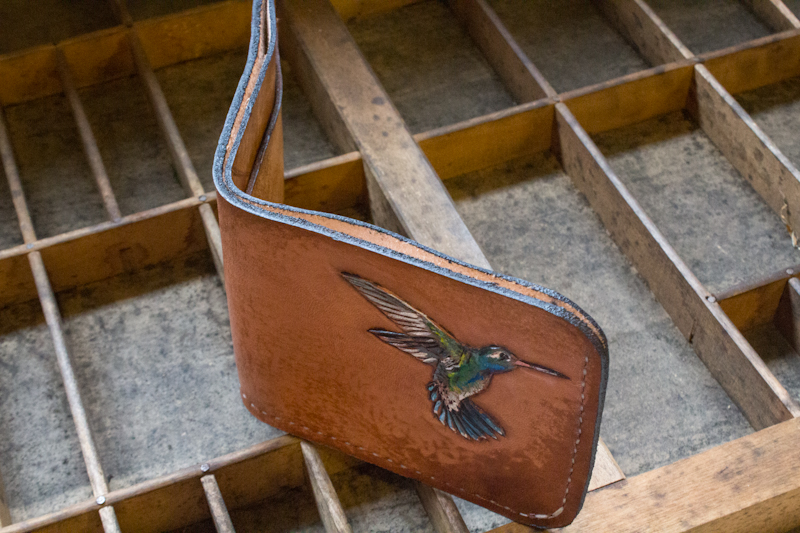 hummingbird leather wallet-5