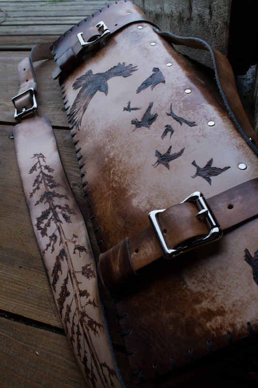 sequoia and ravens leather chef knife roll-14